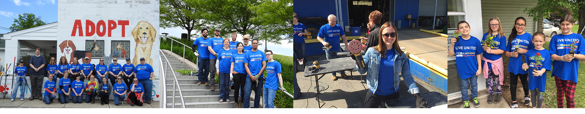 27th Annual United Way of Wyoming Valley Day of Caring.