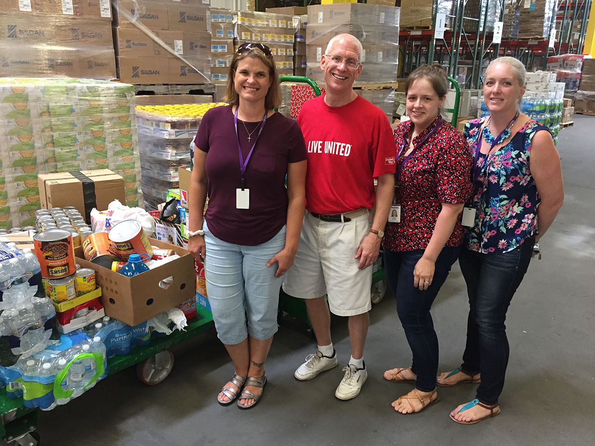United Way of Wyoming Valley's Christmas in July Food Drive Competition