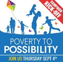 United Way of Wyoming Valley's Poverty to Possibility 2014 Campaign Kick Off